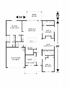 2207 sq ft floor plan