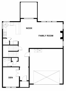 2436 floor plan downstairs