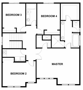 2436 floor plan upstairs